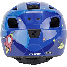 Cube Pebble Casque Enfant, blue universe